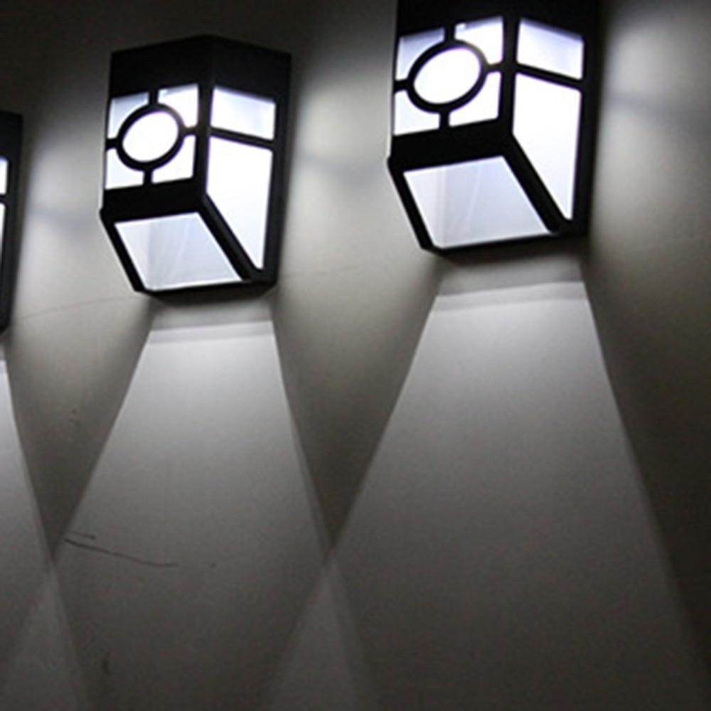 Solar Retro Wall Lamp Waterproof Solar Led Pane Garden Light For Street Path Solar Outdoor Lighting Buitenverlichting