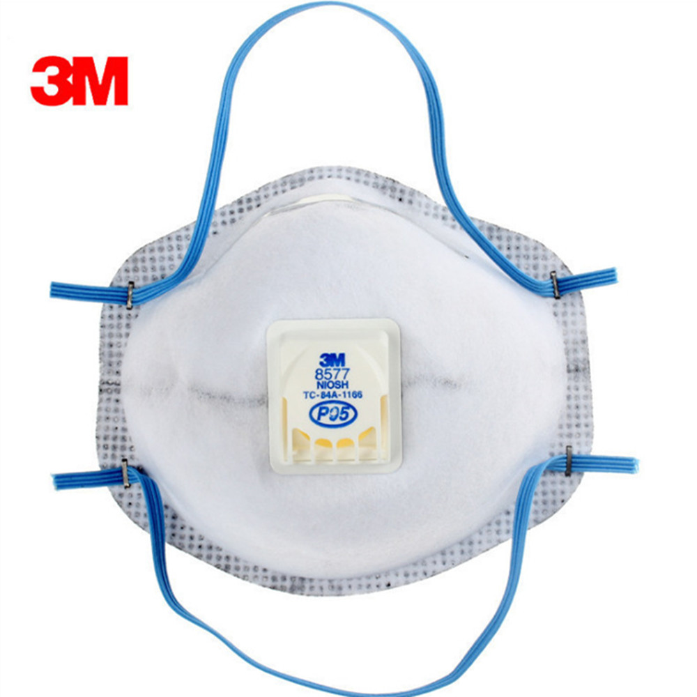 Odor Anti Dust Organic 3m Masks Particulate 8577 Vapor And