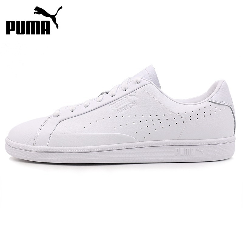 Original New Arrival 2018 PUMA Match 74 Tumbled Unisex  Skateboarding Shoes Sneakers