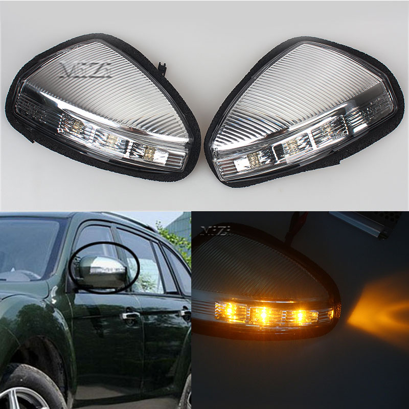 MZORANGE Fit For LIFAN X60 Rear view Mirror Turn Signal LED Light Side Lamp For LIFAN X60 Steering Lamp Car styling front rear universal car seat covers for lifan x60 x50 320 330 520 620 630 720 car accessories auto styling
