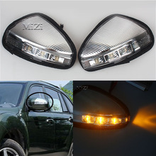 цена на MZORANGE Rearview Mirror Light Turn Signal LED Light For LIFAN X60 Side Lamp For LIFAN X60 Steering Lamp Car styling 1/2 P