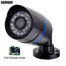 POE, Ip-камера 720 P/960 P (1MP/1.3MP) Открытый Full HD Водонепроницаемая Пуля Безопасности 3.6 мм Объектив Ик P2P ONVIF ABS Пластиковый Корпус