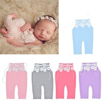 High Quality 1 Pc Lace Baby Romper Newborn Photography Prop Infant Baby Photo Shoot Accessories Hot New Design 5 Colors(China)