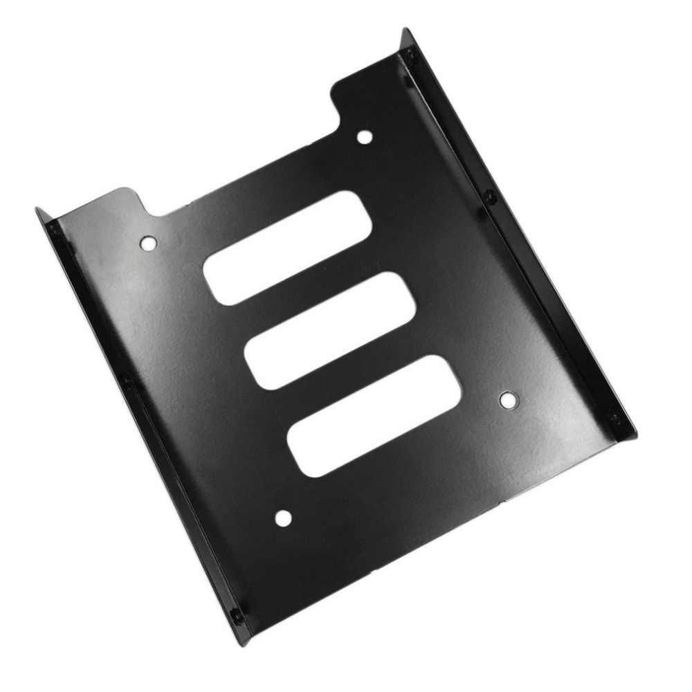 Chuyên nghiệp 2.5 Inch Đến 3.5 Inch SSD Kim Loại Adapter Giá Ổ Cứng SSD Gắn Giá Đỡ Dành Cho MÁY TÍNH Màu Đen