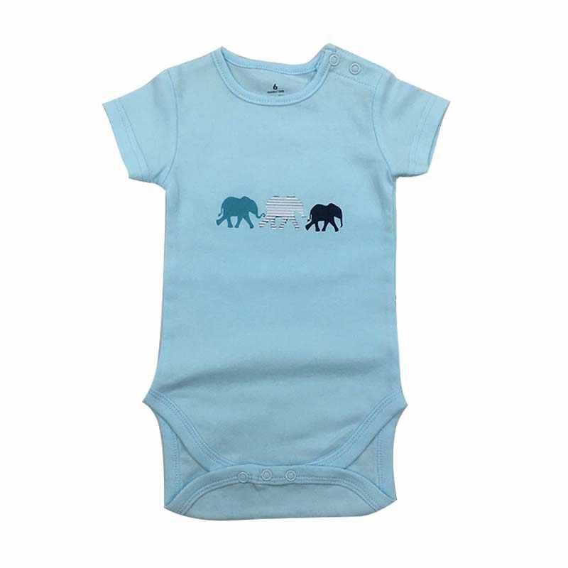 Body de bebé a la moda 1 unids/lote cuerpo recién nacido bebé mono de manga corta Niño niña mono chico
