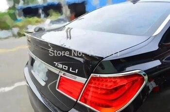 MONTFORD For BMW F01 F02 F03 F04 7 Series Sedan 2010 - 2015 750i 760i Carbon Fiber Rear Trunk Spoiler Tail Lip Wing Car Styling