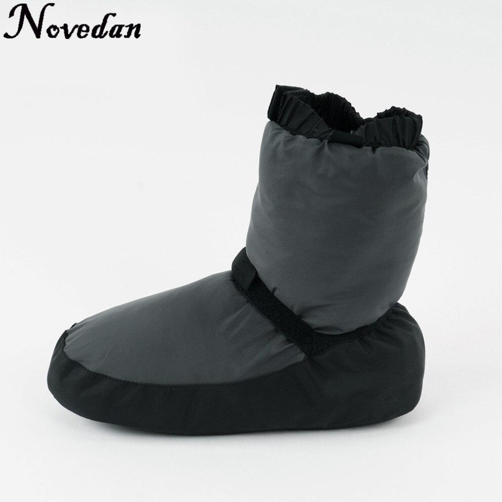 Новинка; женские теплые ботинки для балета; цвет черный, фиолетовый, серый; теплые ботинки для балета; Размеры 37 43