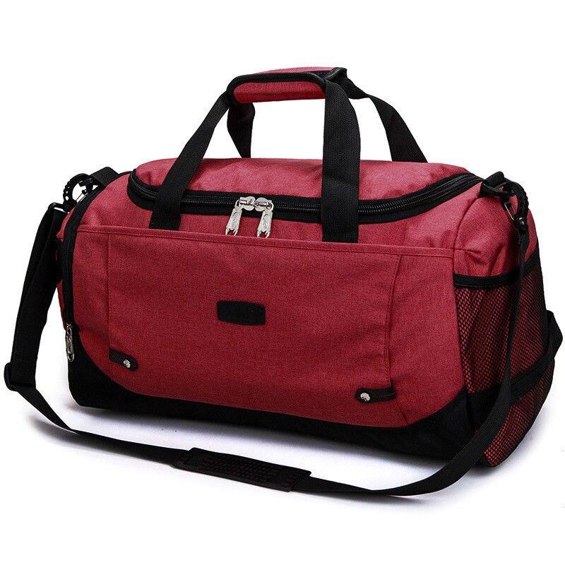 Women's Gym Sports Travel Bag Daypack Duffle Pack Shoulder Bag Man Shaving Bag And Gym Bag Package Included