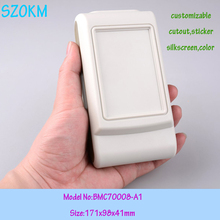 10 pcs/lot electrical junction box size electrical equipment case small  project box plastic handheld enclosure 171X98X41 MM
