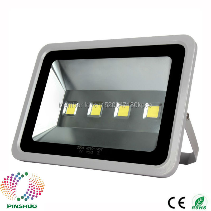 (3PCS/Lot) 3 Years Warranty Brigdelux Chip LED Floodlight LED Flood Light 200W Outdoor Tunnel Spot Bulb Lighting p10 real estate project hd clear led message board 2 years warranty