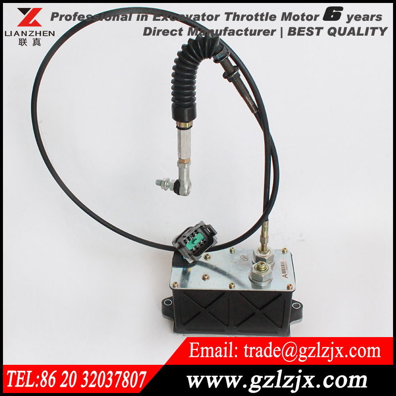 Replacement parts for CAT caterpillar Excavator throttle motor stepping motor 191-5611 with single cable 1915611