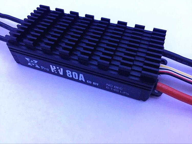 Hobbywing XRotor Pro 80A HV V3 6 14S ESC электронный контроллер скорости без BEC для мультикоптера, сельскохозяйственного дрона