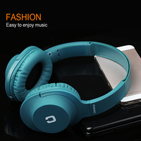 Foldable Wired Headphones With Microphone Over Ear Headphone Bass HiFi Sound Music Stereo Headset For IPhone