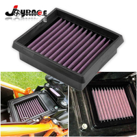 For KTM Duke 125 200 390 High Flow Non Woven Fabric Air Filter Cleaner Element