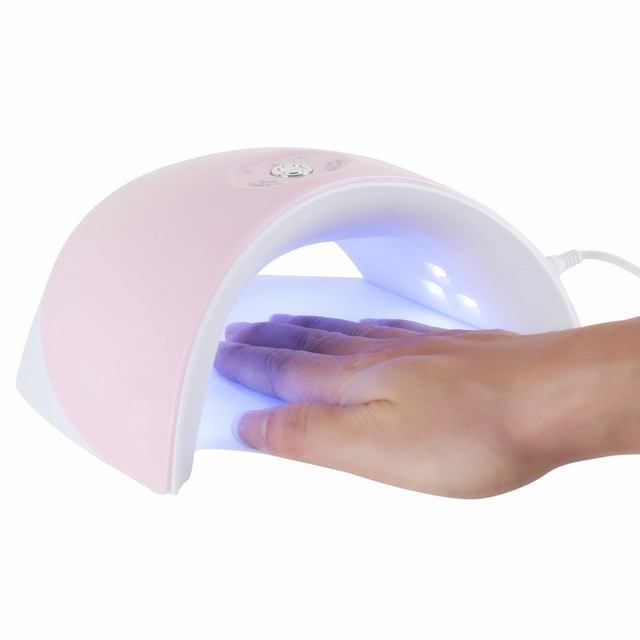 9SD 36W LED UV Lamp Nail Dryer 12pcs LED Nail Light Nails Gels Manicure Machine with Timer Button USB Connector Nail Art Tools