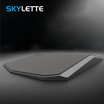 Micro skórzane antypoślizgowe podkładka pod mysz Super miękka biurko na laptopa styl sterowania podkładka pod mysz wodoodporny podkładka pod mysz dla biuro w domu do gier tanie i dobre opinie SKYLETTE Z tworzywa sztucznego SKY-064 Z nadgarstek Zdjęcie Black PU+ABS 35 8 x 21 x 2 8cm 200g Stereo with wrist pad hard functional mouse pad