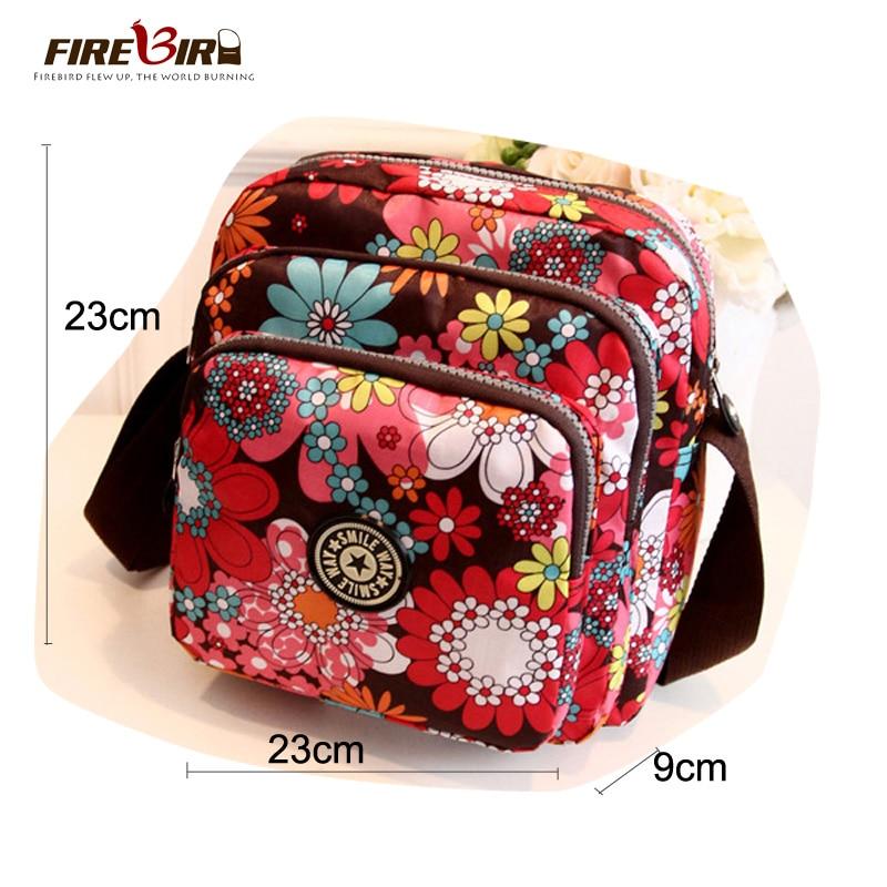 Aliexpress Hot sale Fashion Women messenger bags Waterproof Nylon crossbody bags for women Multilayer zipper Small Handbag Z291 недорго, оригинальная цена