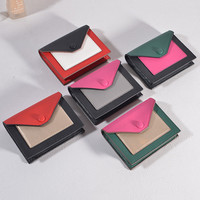 Women Wallet Holder Purse Famous Brand Casual Leather Ladies Patch Card Female Credit Card Holder Card