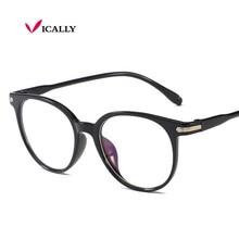 Vintage Round Clear Lens EyeGlasses Women Glasses Frame Men Anti Blue L