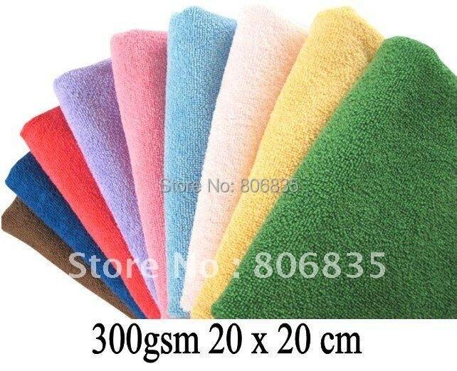 Adaptable Paño De Limpieza De Microfibra 300gsm 20 Cm X 20 Cm, Trapos De Limpieza, Toalla De Cámara De Microfibra Para Pantalla De Lente, Productos De Limpieza Doméstica Hermoso En Color