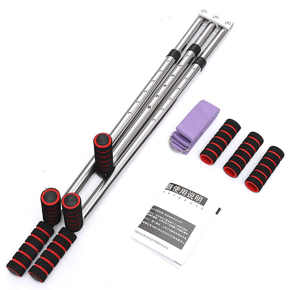 Универсальный разделенный Растяжка ног аппарат гибкий тренировочный прибор для физических упражнений ножка связка носилки устройство