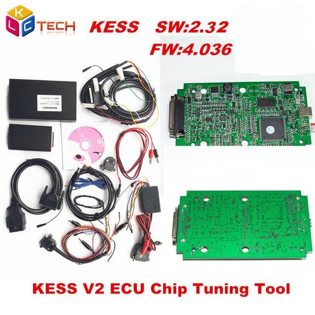 Fiyatı kontrol et 2018 Yeni KESS V2 OBD2 Tuning Kiti ECU