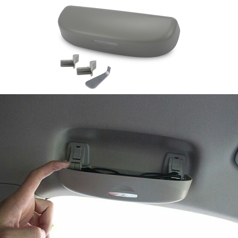 Car Styling Sunglasses Holder Accessories For Audi A3 A4 A5 A6 A7 A8 C5 C6 C7 80 100 B5 B6 B7 Q5 Q7 Q3 TT 8P 8L 8V A1 S3 S line ttcr ii car accessories for audi a4 a5 a6 a7 a8 q5 s4 s6 s7 sq5 at mt accelerator brake clutch pedal pad pedales stickers