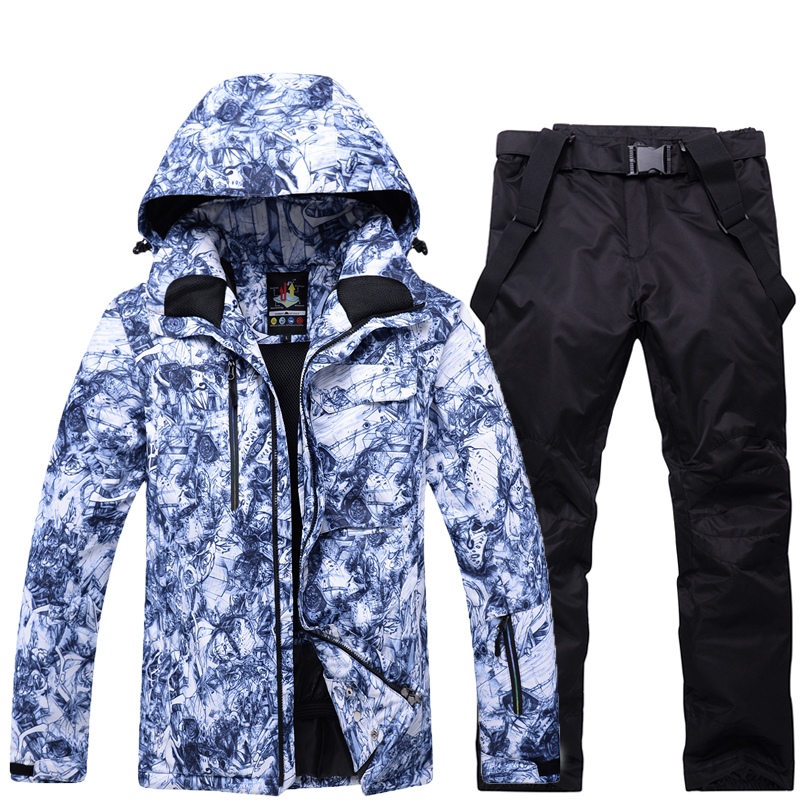Good Quality Men Ski Suits Jackets And Pants Winter