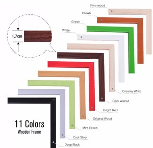 Image 5 - 30*40cm Whiteboard Dry Erase Magnetic Board Drawing Bulletin White Boards Wood Frame Erased Easily Repeated Factory Supplier