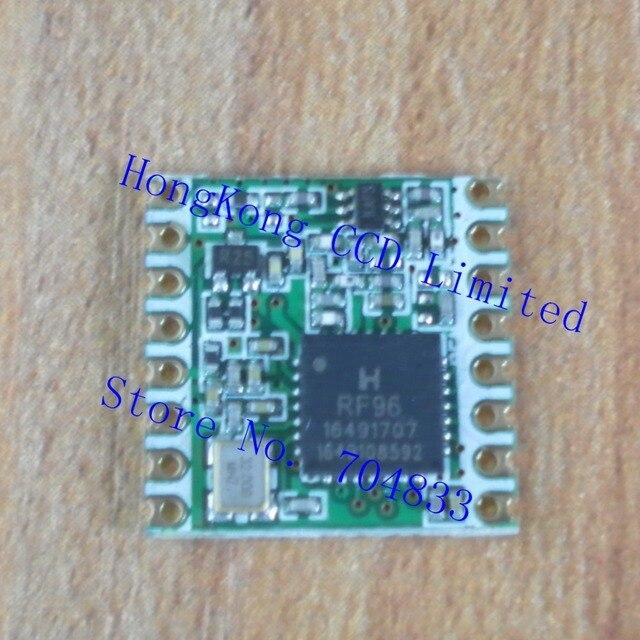 RFM95W 20dBm 100mW 868Mhz 915Mhz DSSS spread spectrum wireless transceiver module SPI SMD
