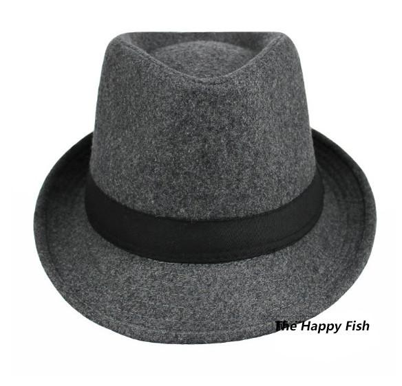 Original Unisex Structured Wool Fedora Hat Fedora hats for men fedora felt hat (10)