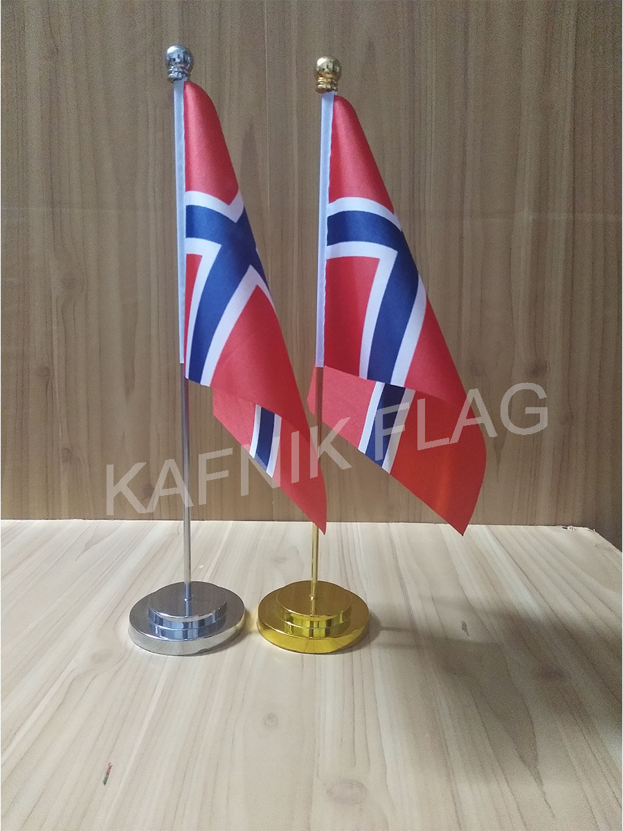Shop For Cheap Kafnik,chinese Office Table Desk Flag With Gold Or Silver Metal Flagpole Base 14*21cm Country Flag Free Shipping Home & Garden