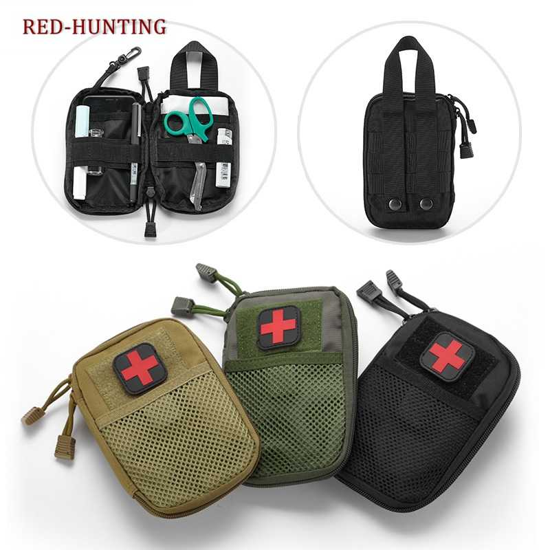 Tactical MOLLE EDC Pouch Waist Pack Bag Accessory Bag Passport Wallet Phone Pocket Pouches Hunting Pack Belt Bag