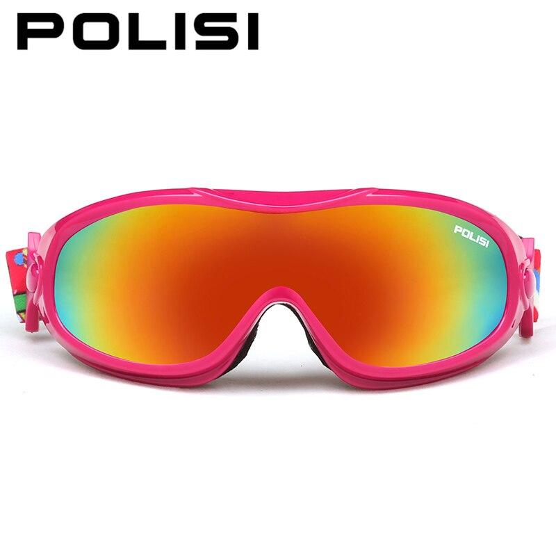 POLISI Для мужчин Для женщин зимние Лыжный спорт мотоцикл очки сноуборд снегоход Скейт очки Анти-Туман UV400 Лыжный защитный Очки