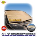 car accessories  Front window sun shade & winter frost and snow shade Foils Windshield Visor Cover UV Protect Car Film XD-1