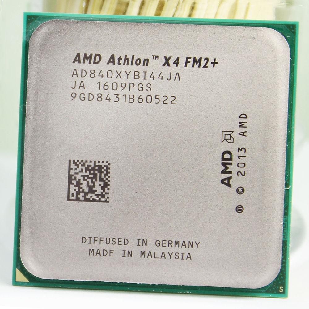 AMD Athlon X4 840 Quad-Core X840 3.1GHz/4M/65W Socket FM2+ 906-pin CPU Processor