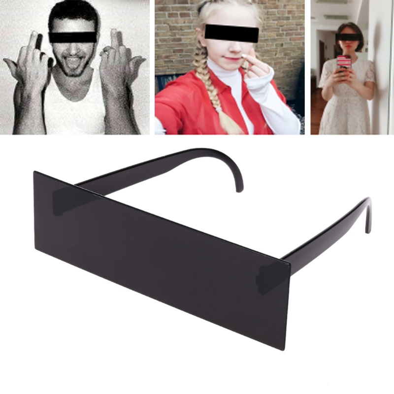 HBB New Thug Life Glasses Deal With IT Sunglasses Black Pixilated Mosaic Sunglasses Novelty Gags & Practical Jokes Kids Toys image