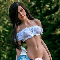 165cm Sex Dolls for Adult Men Sexy ForToys Realistic Japanese Anime Silicone Oral Love Doll Small Breast Mini Vagina Pussy