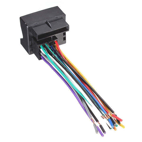 popular radio wiring harnesses buy cheap radio wiring harnesses brand new car stereo cd radio player wire harness adapter plug for volkswagen jetta