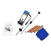 Verbesserte Version festwinkel Messerschärfer Professionelle Küche-messerschleifer Kits System 4 Schleifsteine