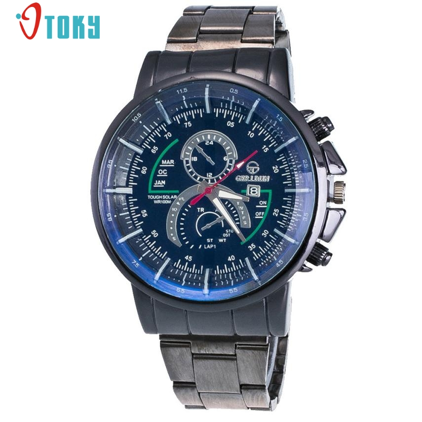 Relogio Masculino Hot Sale Luxury Brand Fashion Men Watches Stainless Steel Sport Quartz Hour Wrist Watch Creative Mar29 2017 new top fashion time limited relogio masculino mans watches sale sport watch blacl waterproof case quartz man wristwatches