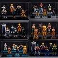 6PCS/Lot Dragon Ball Z GT Figurines Gotenks Raditz Videl Pan Baby Son Goku Jr. Gohan Neil Goten Gine Trunks Piccolo Buu Figura