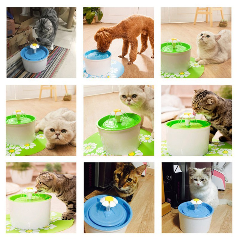6pcs Multi-Functional Automatic Dog Cat Water Feeder  5