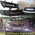 Geely Emgrand EC7 дневного света, 2009 ~ 2013, бесплатные корабль! Geely Emgrand EC7 противотуманные фары, Geely Emgrand EC7