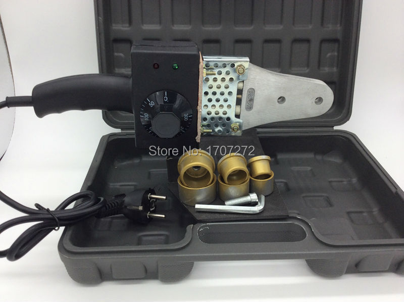 Temperatūros kontroliuojamas PPR suvirinimo aparatas, PVC suvirinimo aparatas, plastikinių vamzdžių suvirinimo aparatas AC 220V 600W 20-32mm naudoti