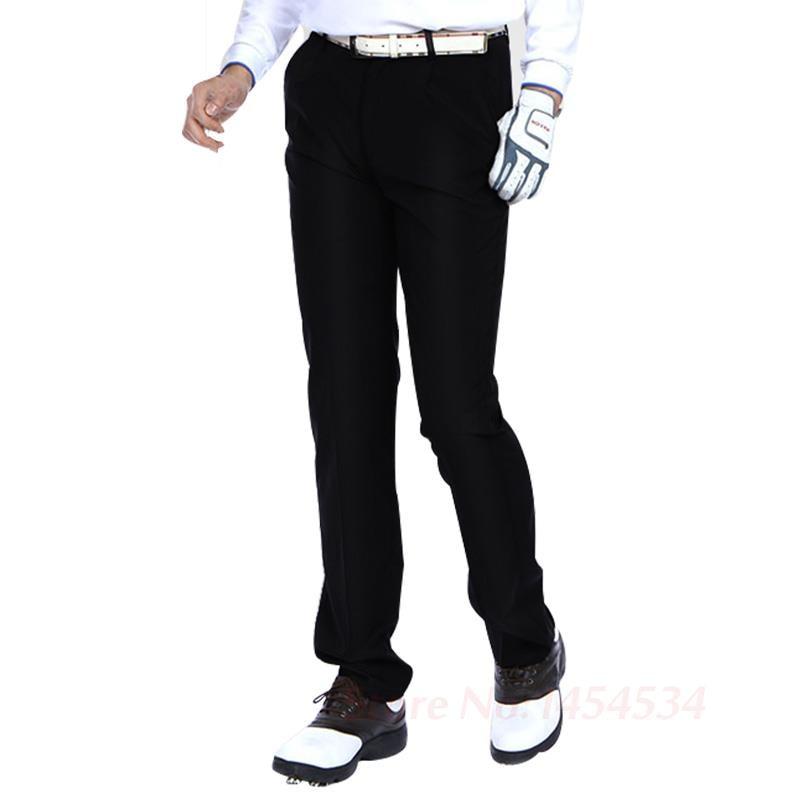 New Brand PGM Plus Velvet Men's Waterproof Trousers Outdoor Pants Golf Men's Clothing Warm Autumn Winter Trousers Quick Dry