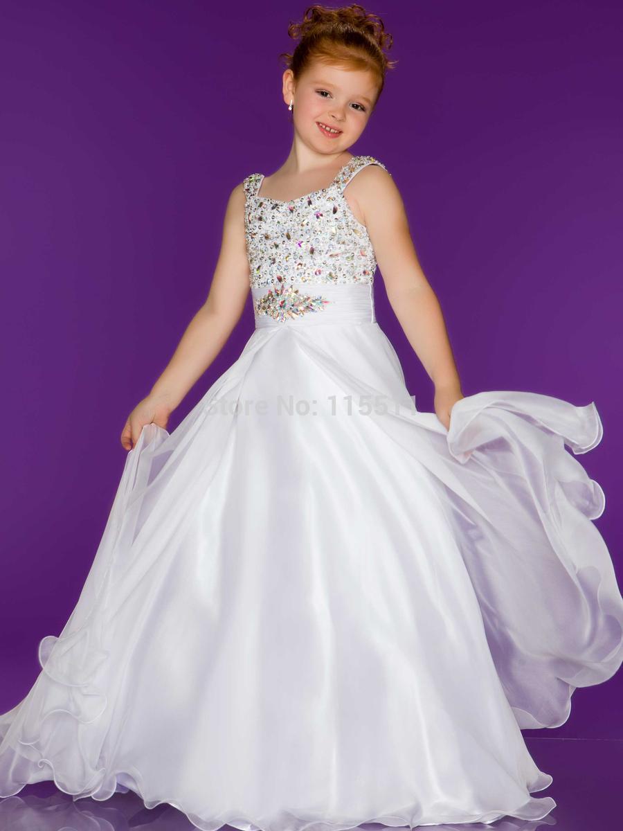 Hermosa Pequeña Dama De Honor Vestidos De Niña Reino Unido Colección ...
