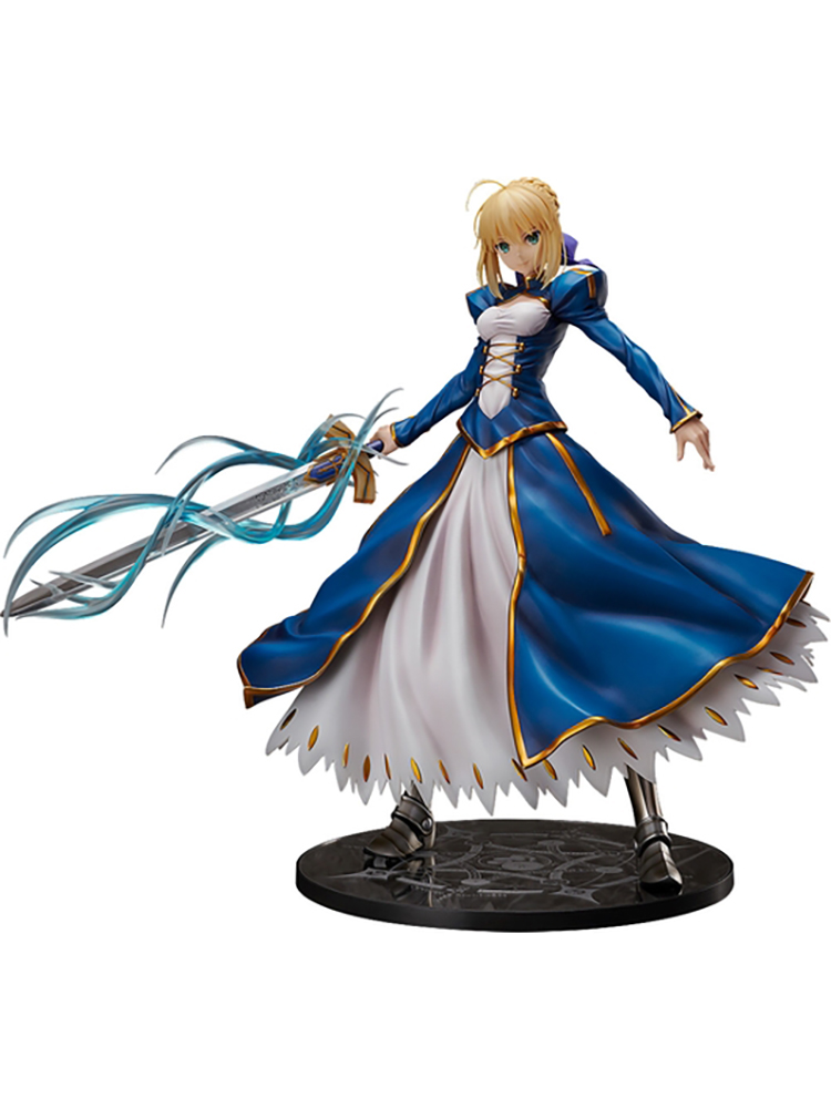 Super Big Anime 1/4 Scale Painted Figure Fate Grand Order Saber Altria Pendragon Action Figure Big PVC Figure Model Doll Toys