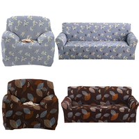 Polyester Sofa Cover Printed New Cloth Art Spandex Stretch Slipcover Sofa Covers Home Safe Dustproof Cover