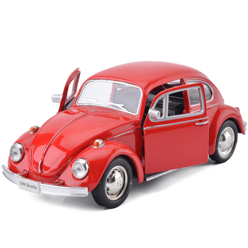 R Beetle 1976 1:36 Toy Vehicles Alloy Pull Back Mini Car Replica Authorized By The Original Factory Model Toys Collection Kids